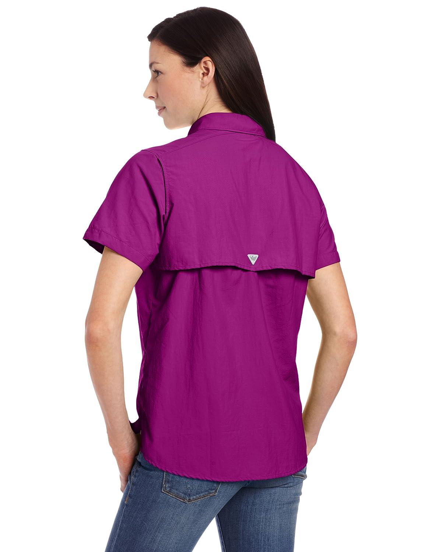 Amazon.com : Columbia Women's Bahama Short Sleeve Shirt : Hiking Shirts