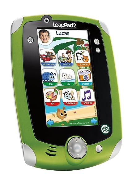 Leapfrog - 81450 - Jeu Éducatif - LeapPad 2 Tablette Tactile - Vert