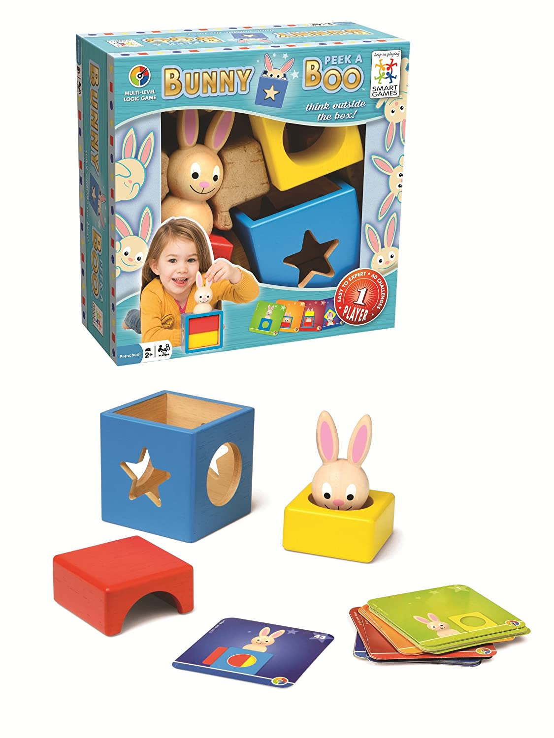 bunny peek a boo smartgames for kids the naughty mommy. Black Bedroom Furniture Sets. Home Design Ideas