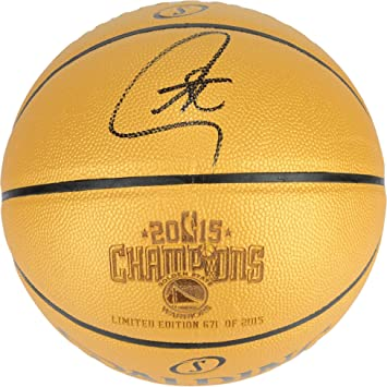 Stephen Curry Golden State Warriors Autographed Commemorative ...