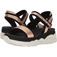 Skechers Relaxed Step Cloud9-Lil Angel Women's Sandals (Rose/Silver)
