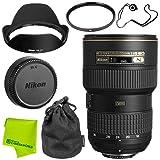 Nikon AF-S NIKKOR 16-35mm f/4G ED VR Lens Base Bundle (Color: 16-35MM, Tamaño: Base)