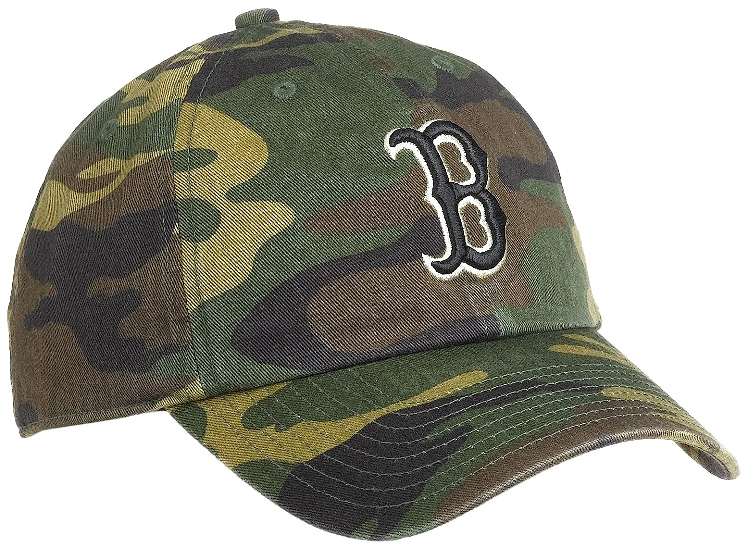 Boston Red Sox Logo Merchandise Red Sox Camouflage Fitted Cap
