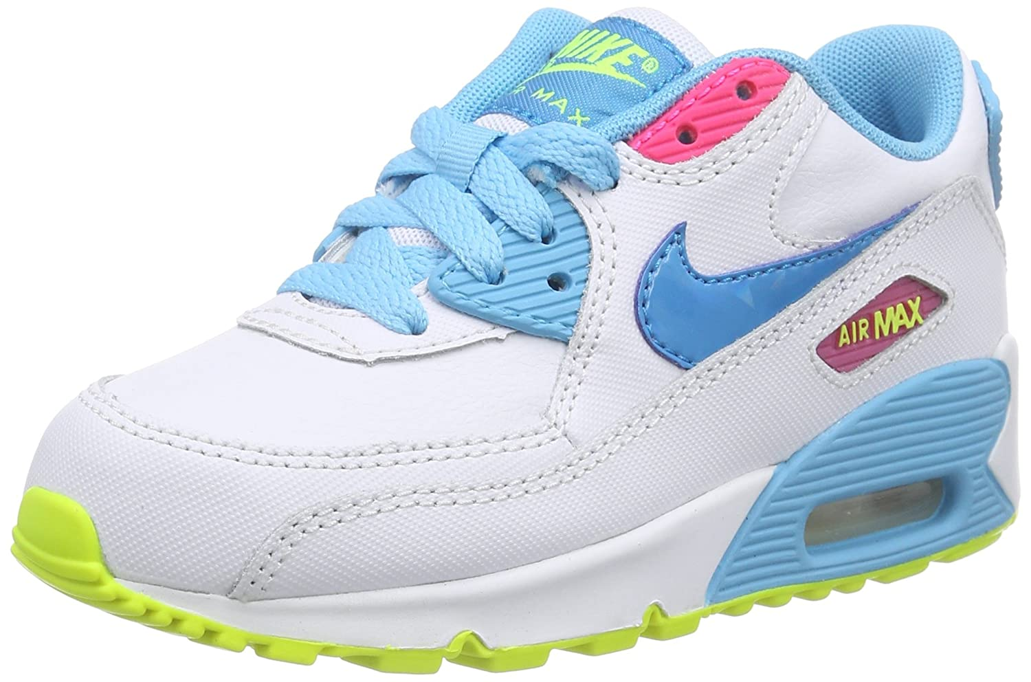 Nike Air Max 90 2007 (Ps) Little Kids Style  345018-122 Size  11 Y ... f0a89613baf6