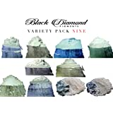 Ghost Series Variety Pack 9 (10 Colors) Mica Powder (Epoxy,Slime,Color,Art) Black Diamond Pigments (Color: red,green,blue)