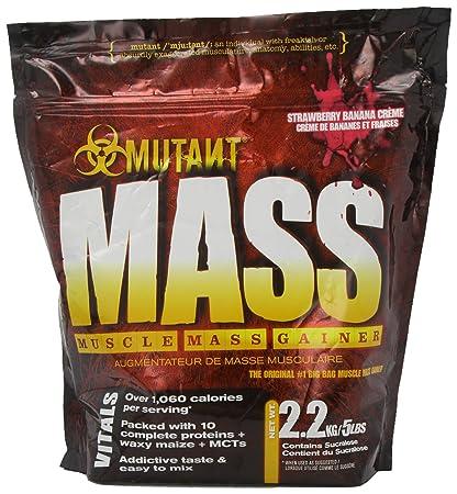 Mutant Mass - Strawberry/Banana - 2200g, 1er Pack (1 x 2.2 kg)