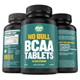 PRME WEEK SALE - Raw Barrel's - Pure BCAA Tablets - SEE RESULTS OR YOUR MONEY BACK - 120 Pills - EXTRA STRONG 1000mg Per Tablet - 2:1:1 Branched Chain Amino Acid Ratio - *FREE* digital guide (Color: Black)