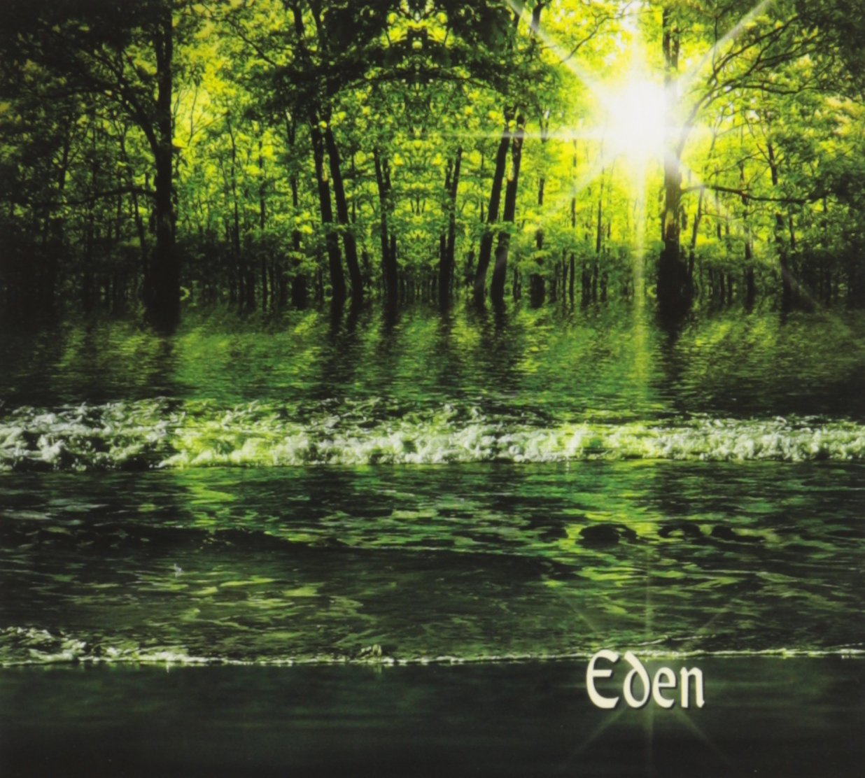 Eden CD Front Cover - Jennifer Parsignault