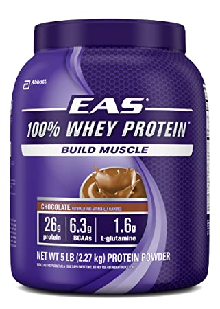 Amazon - EAS 100% Whey Protein, 5lbs - $29.04