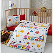 Sumersault Choo Choo Baby Bedding Collection
