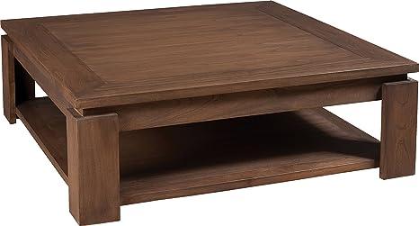 Square Coffee Table mindi Tray-Grey