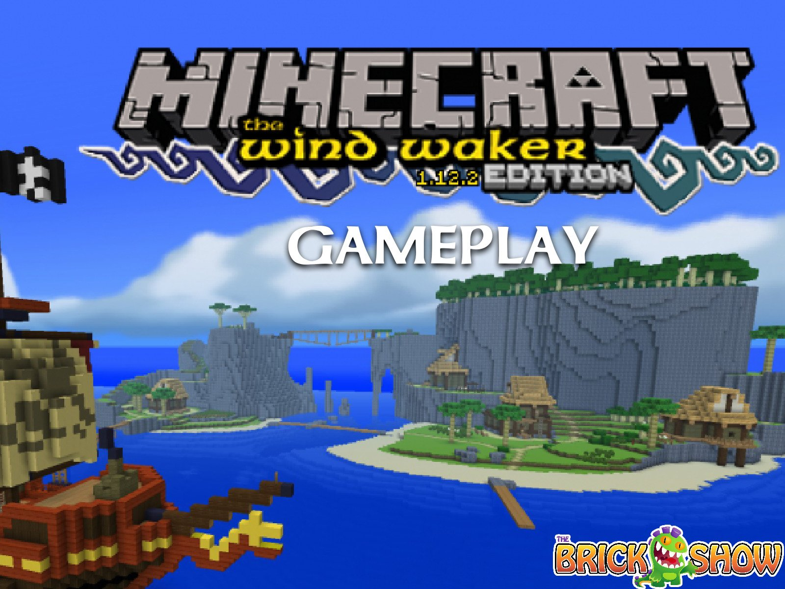 Clip: Minecraft Wind Waker Edition Gameplay