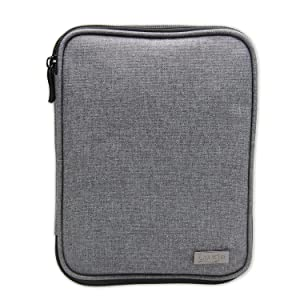 Luxja Knitting Needles Case(up to 8 Inches), Travel Organizer Storage Bag for Circular Needles, 8 Inches Knitting Needles and Other Accessories(NO Accessories Included), Gray (Color: Gray, Tamaño: 8.5L x 6.5W)