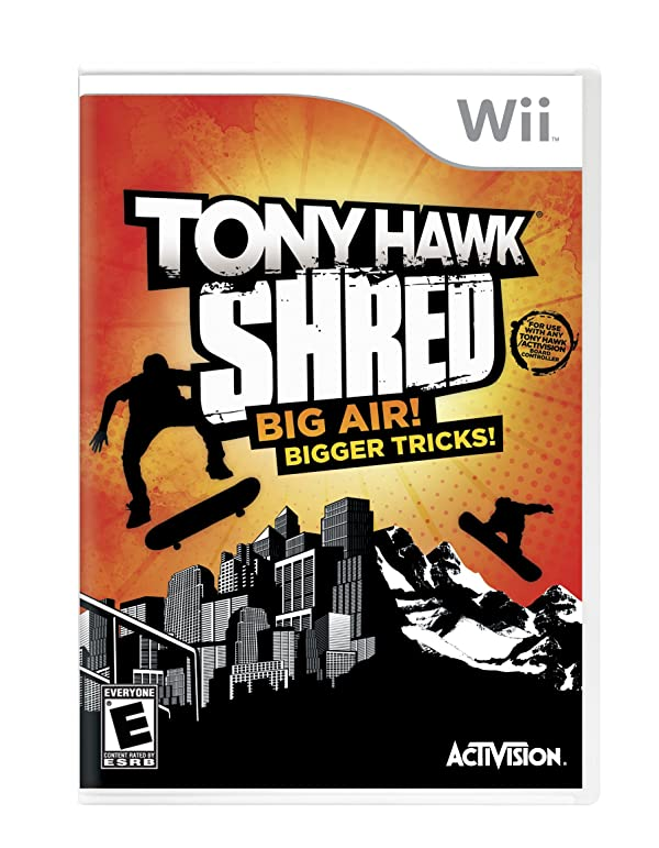 Tony Hawk: Shred Stand-Alone Software
