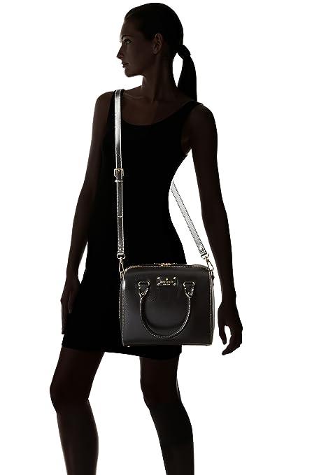 Kate Spade Wellesley Alessa Genuine Leather Shoulder Crossbody Bag Purse Handbag 凯特丝蓓 女士 真皮 单肩包-奢品汇 | 海淘手表 | 腕表资讯