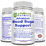 LifeBlend Blood Sugar Control -120 Caps- Support Healthy Blood Glucose Levels   Heightens Insulin Sensitivity (Tamaño: 120 count)