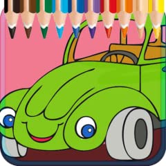 Funny Cars Coloring