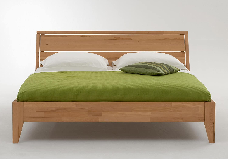 Stilbetten Bett Holzbetten Massivholzbett Mendora Eiche (geölt) 180×200 cm günstig online kaufen