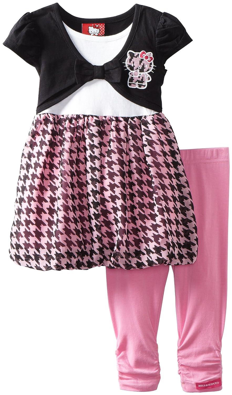 Pretty Polka Dot Hello Kitty Applique Dress | LONG HAIRSTYLES