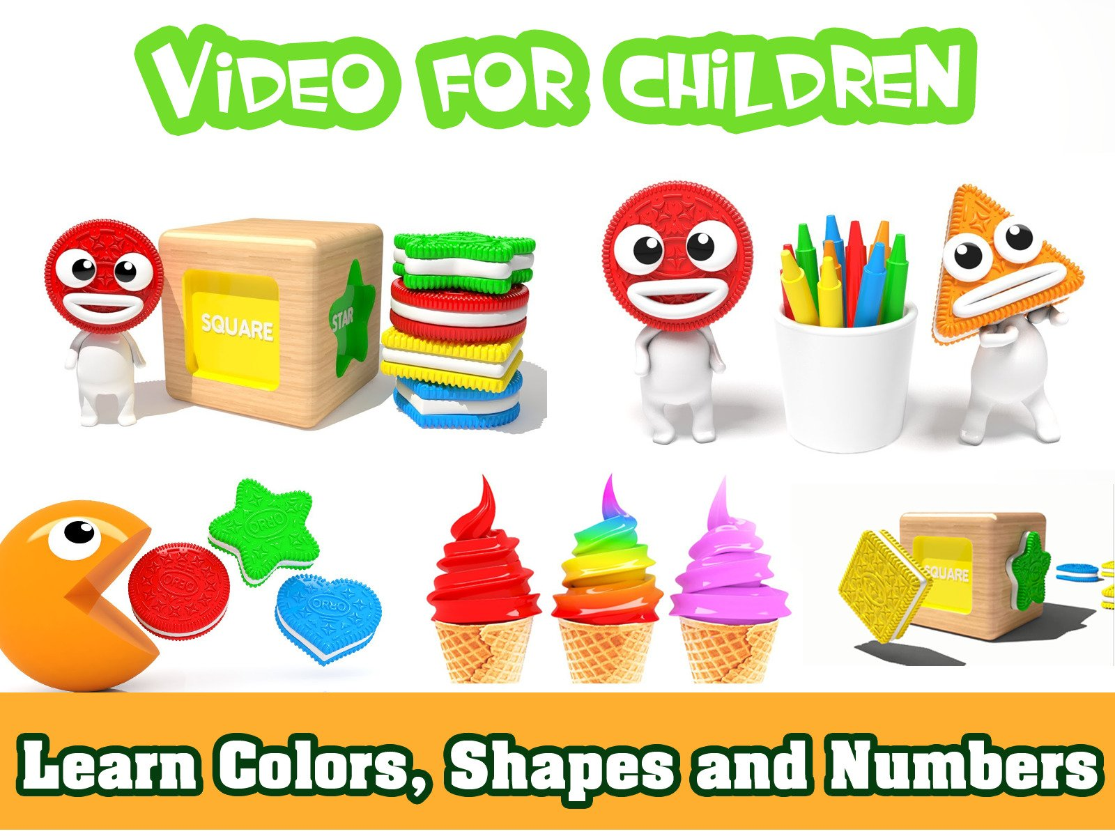 Learn Colors, Shapes and Numbers - Season 1