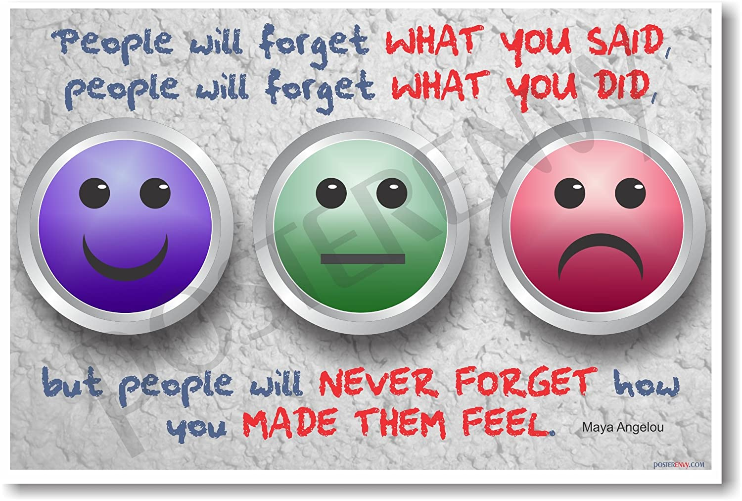 People Will Forget What You Said