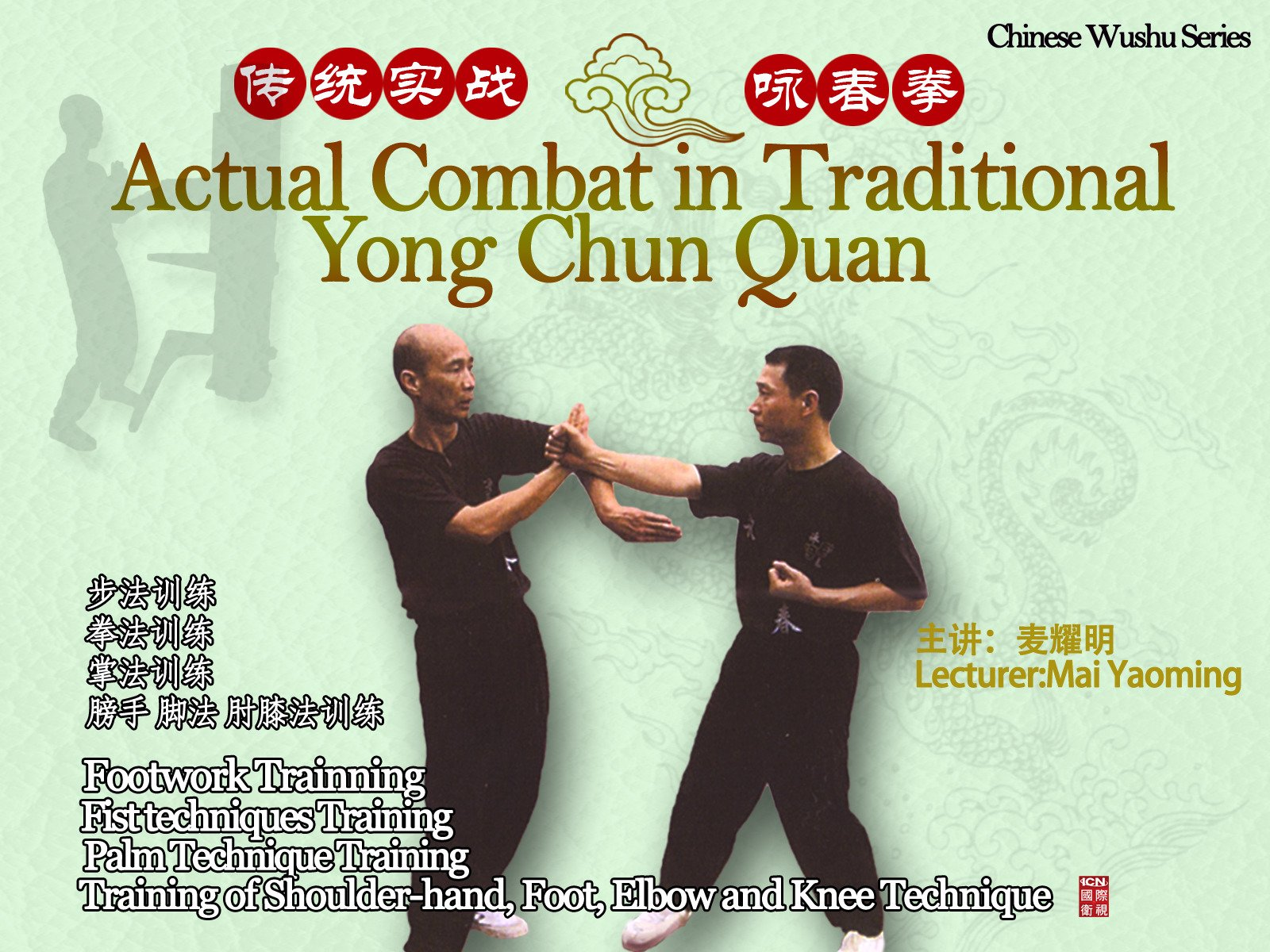 Actual Combat in Traditional Yong Chun Quan on Amazon Prime Instant Video UK
