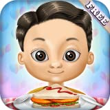 Restaurant Kids Food Maker : burgers, barbecue skewers, ice cream and drinks ! educational game for kids and girls - FREE