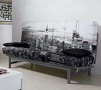 Sofa cama sistema clic clac tapizado New York