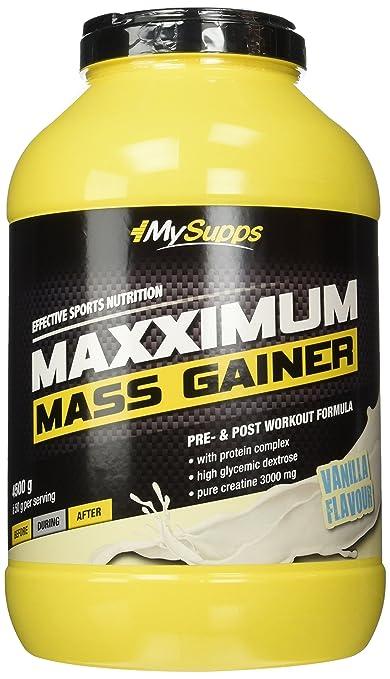My Supps Maxximum Mass Gainer, Vanille, 4,5kg Dose