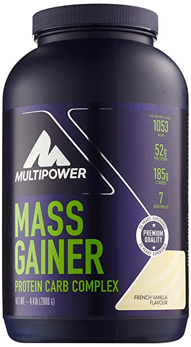 Multipower Mass Gainer Vanilla 2000 g, 1er Pack (1 x 2 kg)