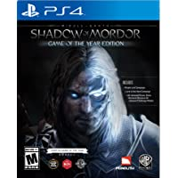 Middle-Earth: Shadow of Mordor Game for PS4