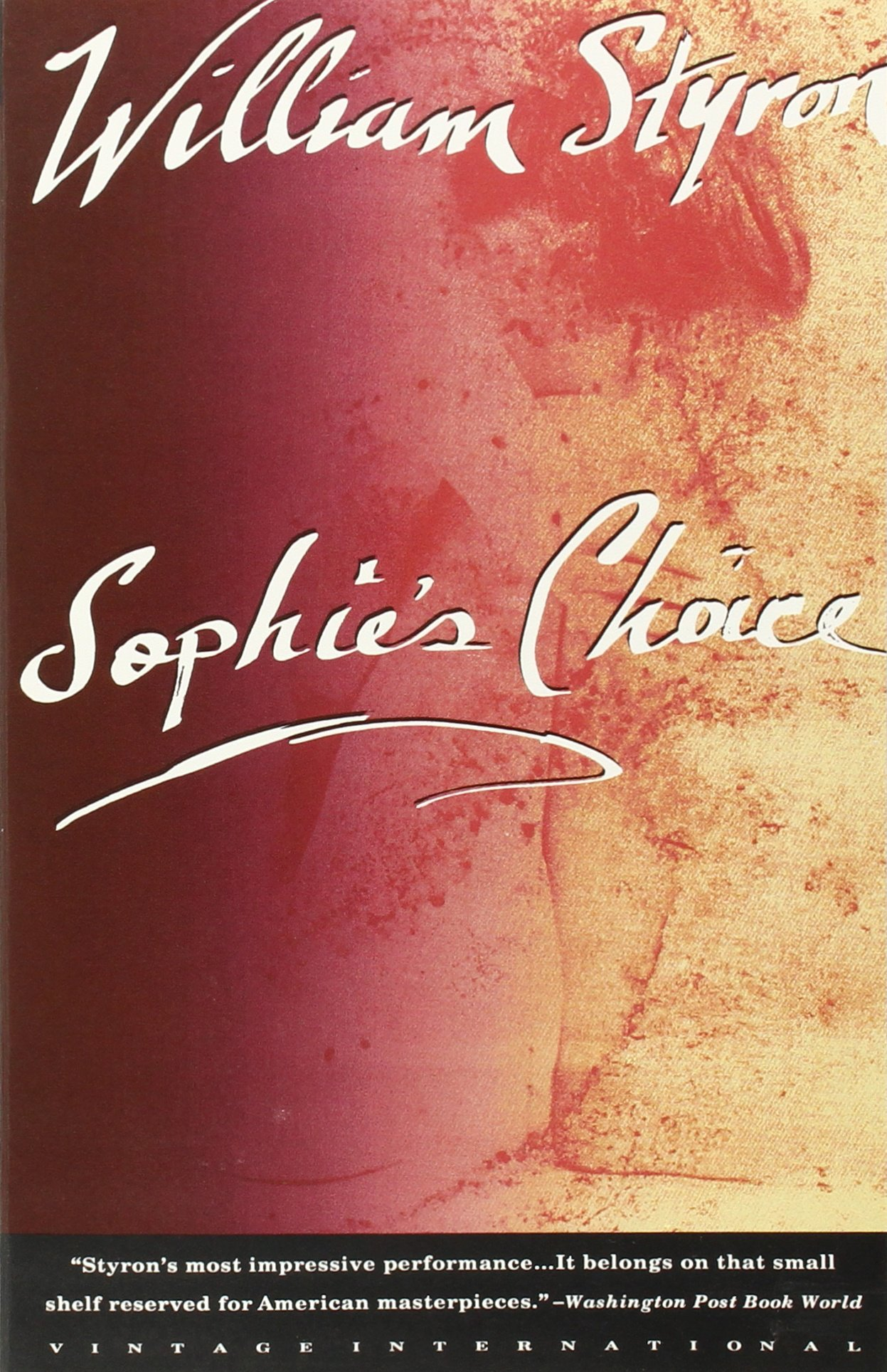 Sophies Choice ISBN-13 9780679736370