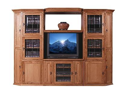 Forest Designs Mission Adjustable Shelf: 43w-70w (Shelf Only) 43w-70w Shelf Black Oak