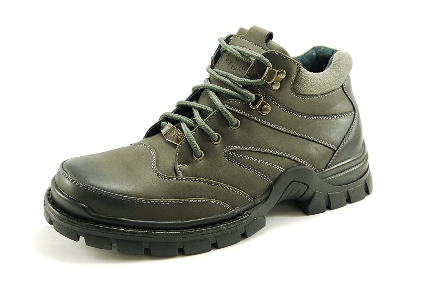 Polar Fox Men's Combat Boot Padded Collar and Tongue