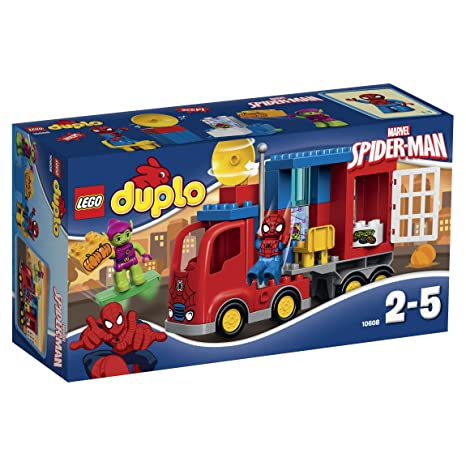 Lego Duplo Super Heroes - 10608 - Jeu De Construction - Spider-man - Truck Adventure