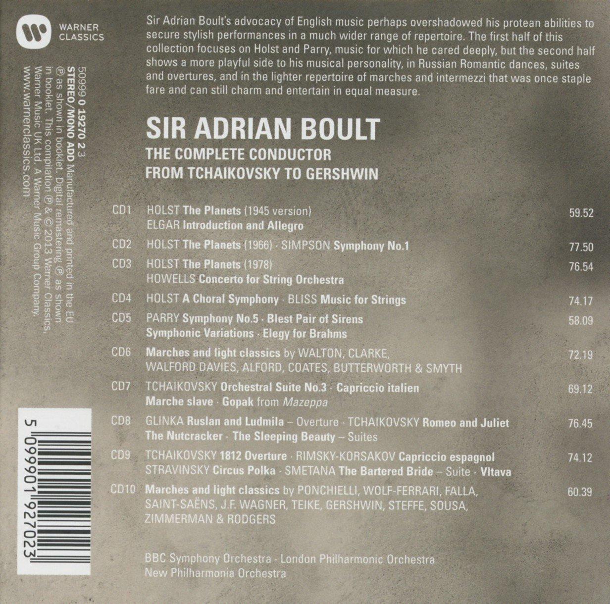 Adrian Boult (1889-1983) 81i-8pAqNWL._SL1232_