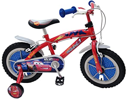 Bike With Car Rims Stamp 14-inch Disney Cars Bike