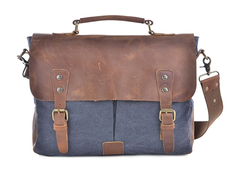 Gootium 21108 Canvas Messenger Bag For 14-15.6