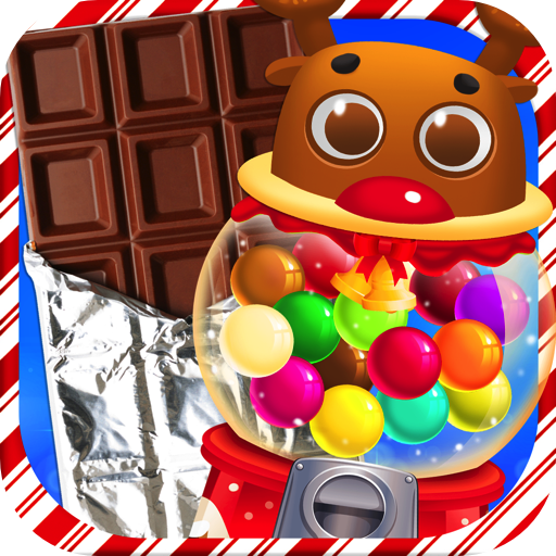 Chocolate Christmas Candy & Bubble Gum - Kids Holiday Xmas Dessert Maker Games FREE (Making Food Games Free compare prices)