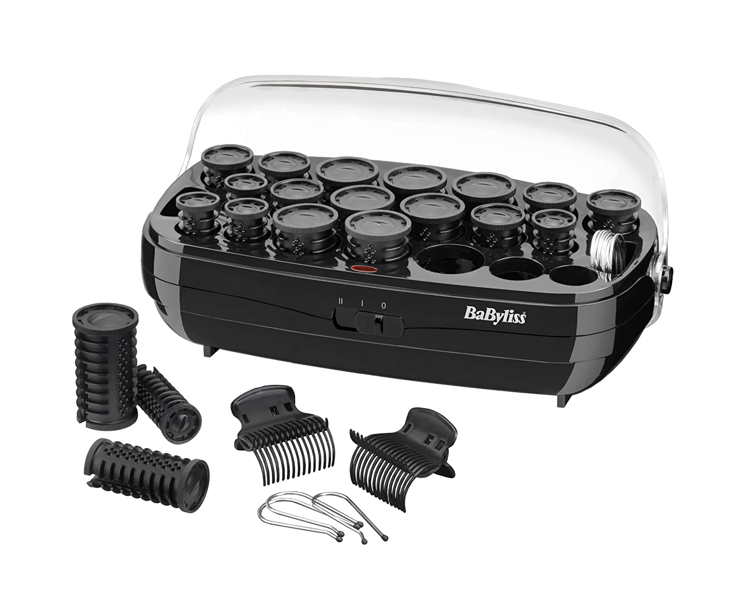 Babyliss 3045u 50pc Thermo Ceramic Rollers Set Light