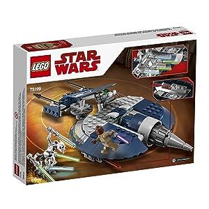 LEGO Star Wars General Grievous' Combat Speeder 75199 Building Kit (157 Piece)