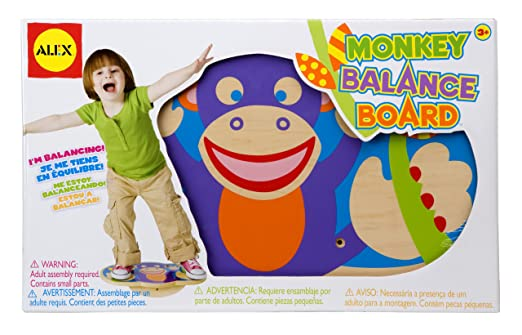 This is on my Wish List: ALEX Toys Active Play Monkey Balance Board: Furniture & Decor