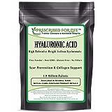 Hyaluronic Acid - Natural Food Grade Sodium Hyaluronate (HA) Powder - High Molecular Weight 1.42 mil Daltons, 2 oz (Tamaño: 2 oz)