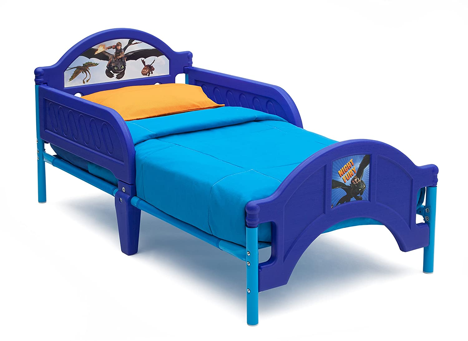 Delta Children Plastic Toddler Bed, DreamWorks How to Train Your Dragon 2