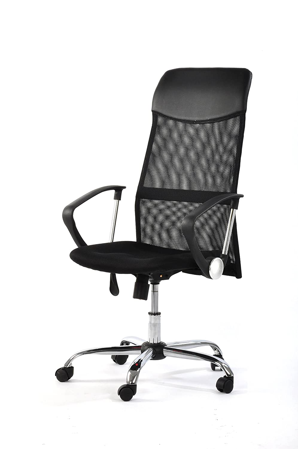 Best office chair 2016 - Furniturer High Back Mesh Ergonomic Office Computer Desk Executive Chair Black