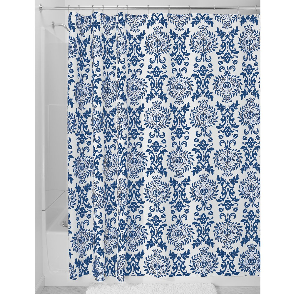 InterDesign Damask Shower Curtain interdesign daizy shower curtain