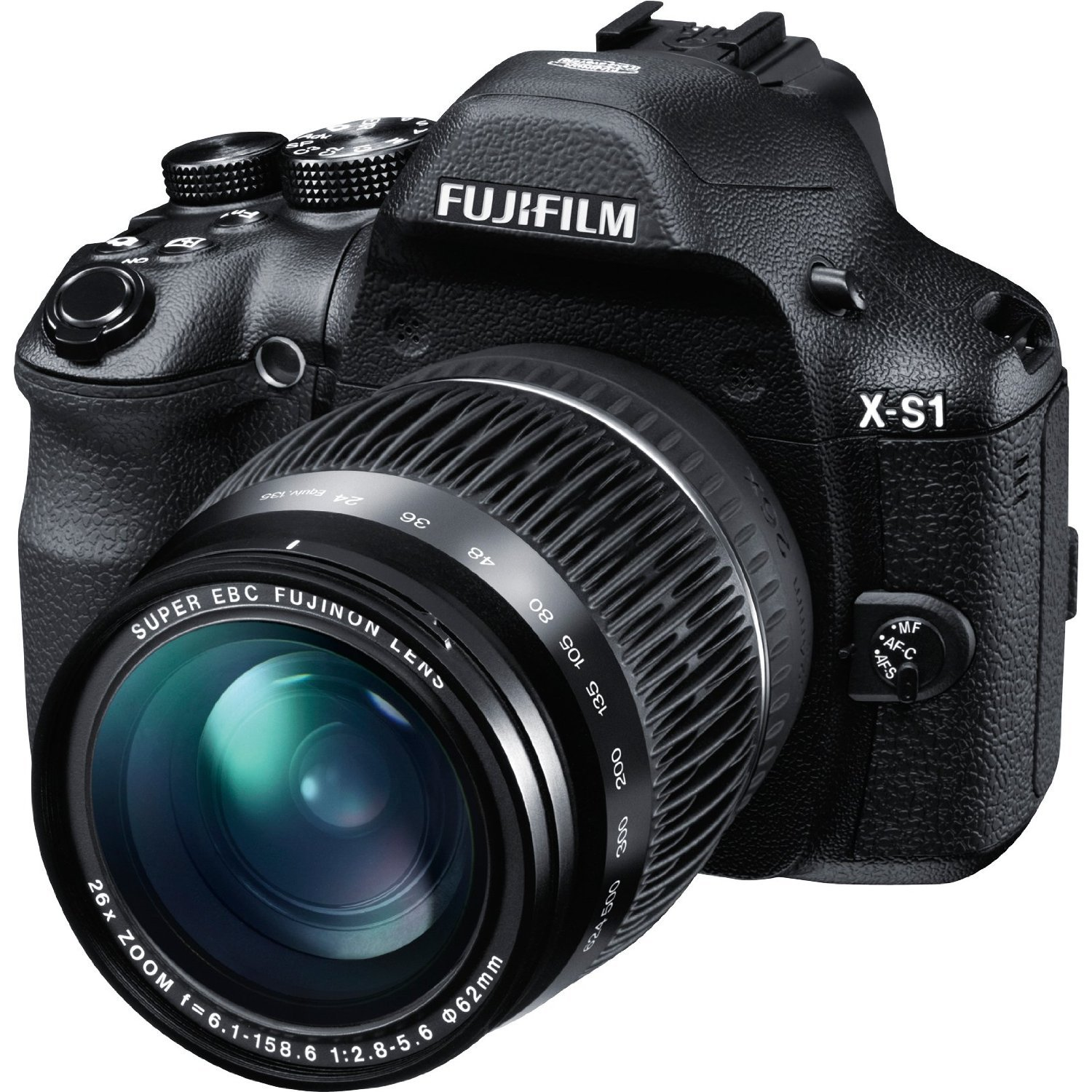 Fujifilm X-S1 12MP EXR CMOS Digital Camera with Fuijinon F2.8 to F5.6 Telephoto Lens and Ultra-Smooth 26x Manual Zoom ($379.00 )