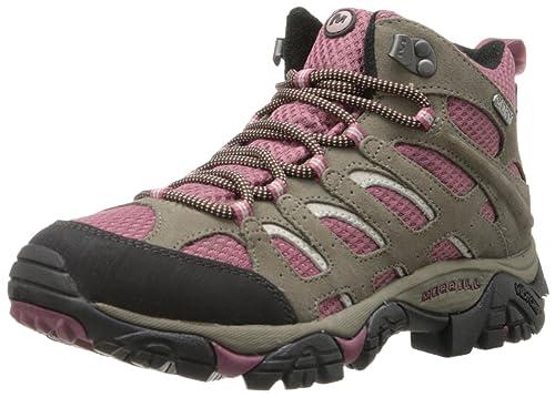 Womens Wide Waterproof Hiking Boots 87