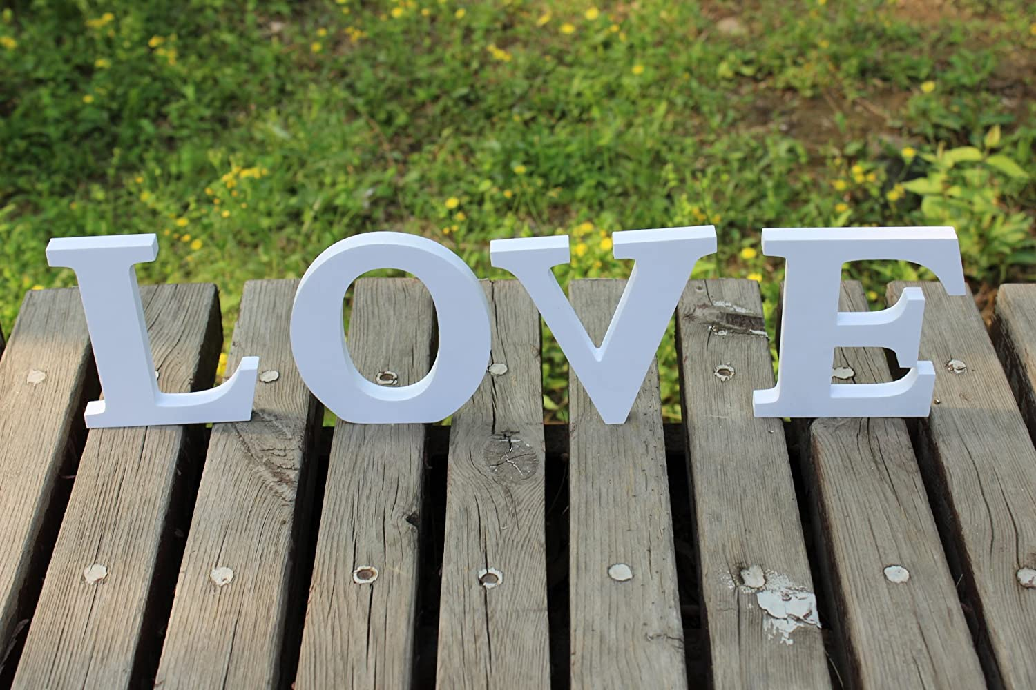 Wooden PVC Love Words/letters