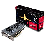 Sapphire 11266-36-20G Radeon Pulse RX 570 8GB GDDR5 Dual HDMI/DVI-D/Dual DP OC with Backplate (UEFI) PCI-E Graphics Card